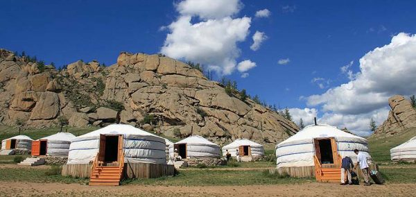 Tourist Ger Camp, Mongolia