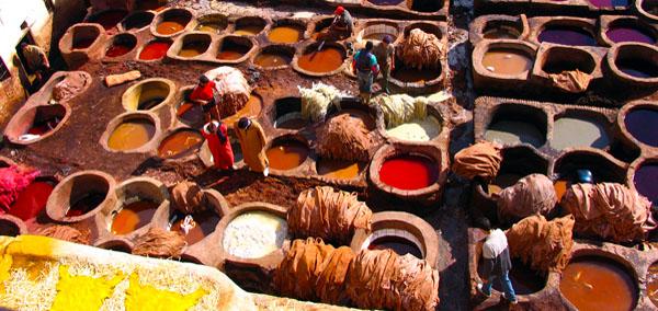 Dye Pits Morocco Tour