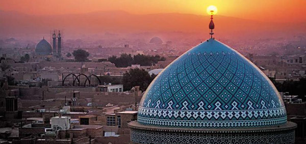 Grand Mosque Yazd Iran Tour