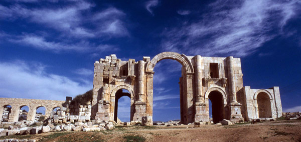 Hadrians Arch Jordan Tour