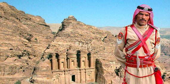 Jordanian Soldier Oman & Jordan Tour
