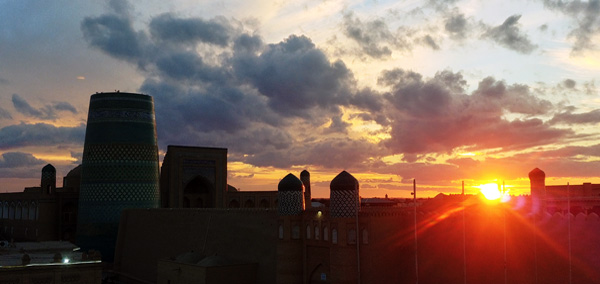 Bukharan Sunset