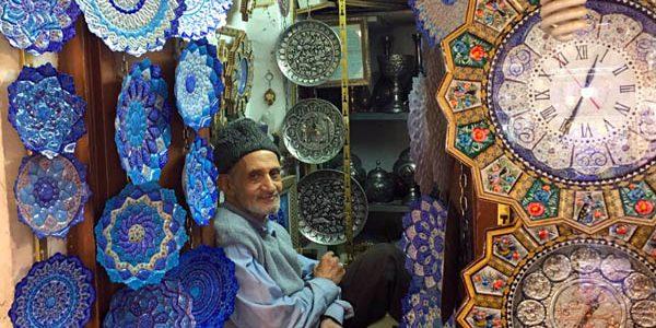 Iranian Clock Man - Iran Tour