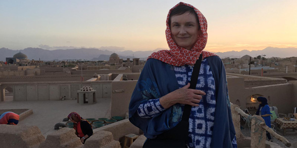 Mary in Yazd