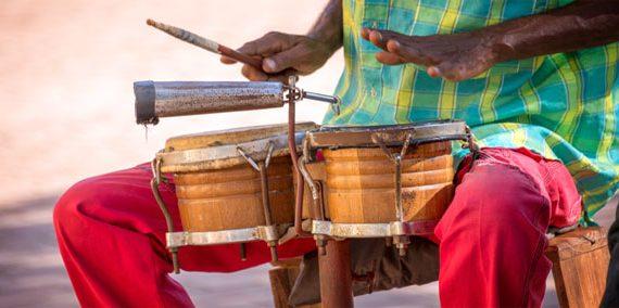 Cuban Drummer Cuba Tour