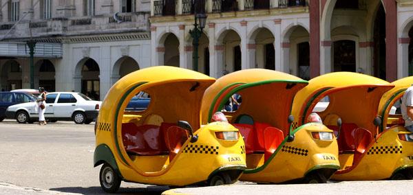 Cuba Tour Coco Taxis