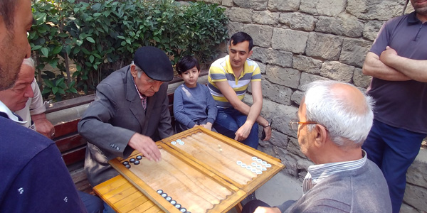 Azerbaijan Tour Backgammon