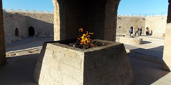 Zoroastrian Temple Azerbaijan tour