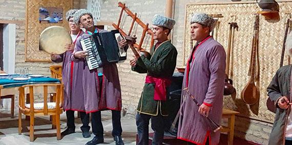 Folk Band Uzbekistan